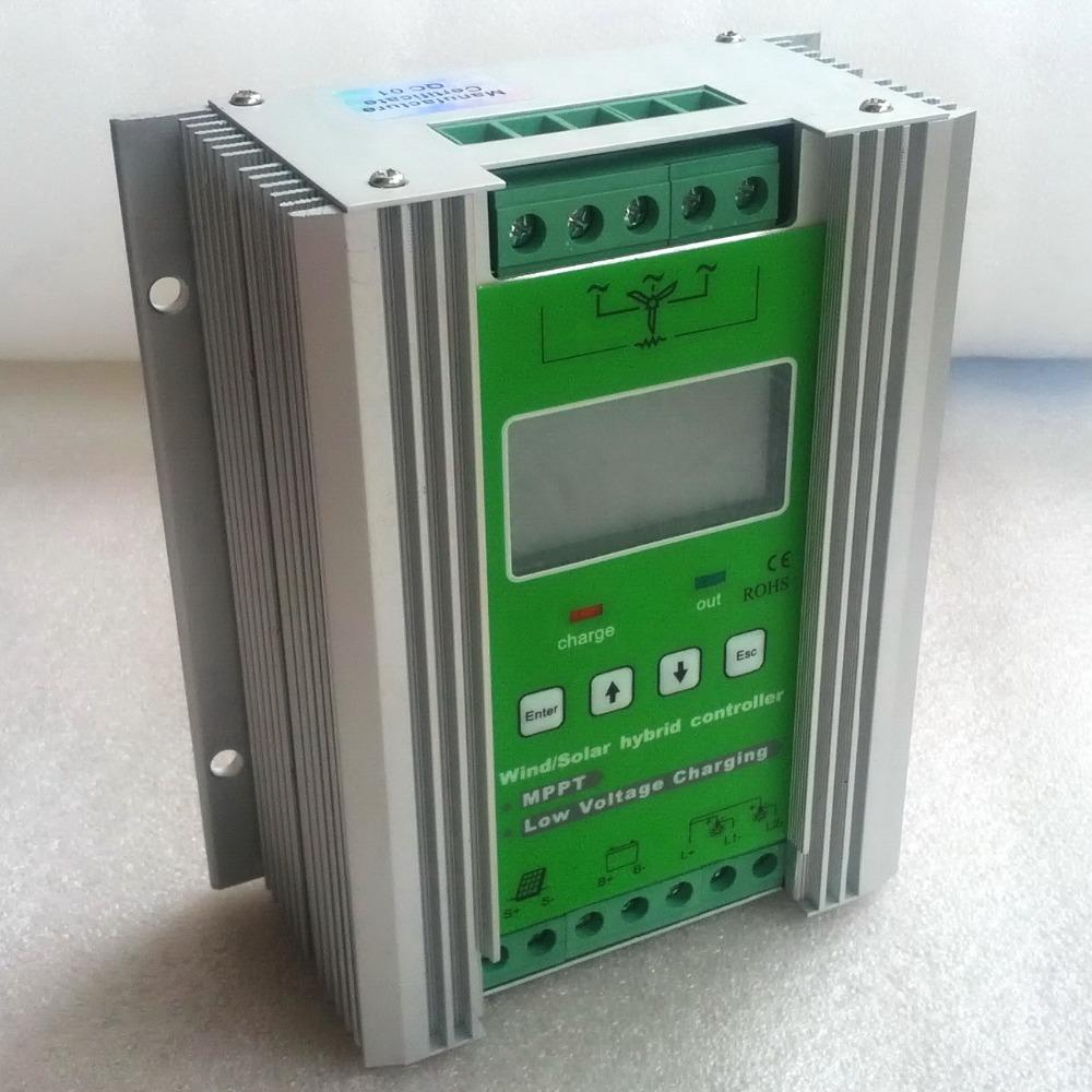 600W MPPT Wind Solar Hybrid Controller 12V 24V, 300W Wind Turbine+300W Solar Hybrid Charge Controller 12V 24V 600W<br><br>Aliexpress