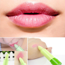New Brand Professional Cosmetic Makeup Heterochrosis fruity waterproof lipstick color changing lipstick Make Up