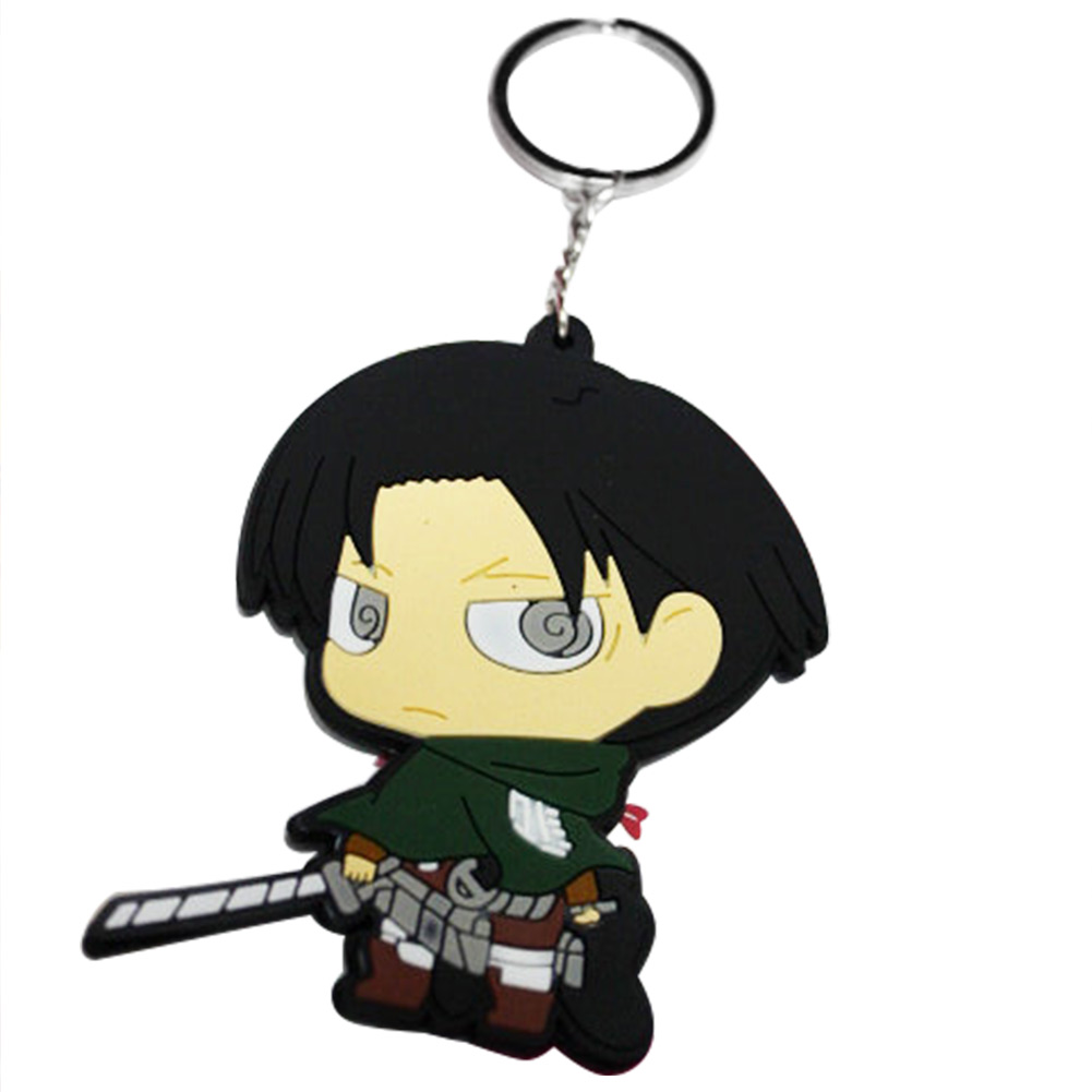 Гаджет  Hot Cartoon Cos Shingeki no Kyojin Levi Rivaille Key Chain Figure Hot Attack On Titan Child Christmas Gift New None Изготовление под заказ