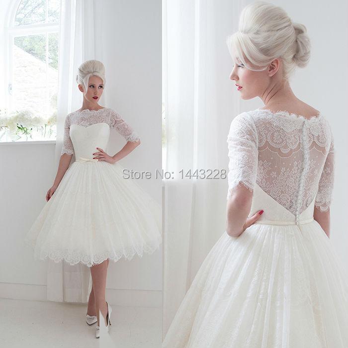 Vintage tee l nge hochzeitskleid beurteilungen online for Wedding dresses from china reviews