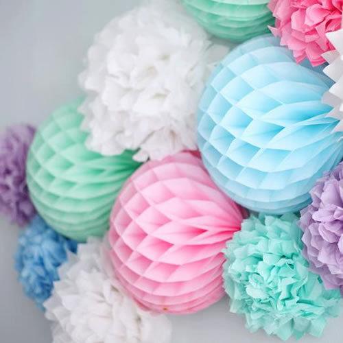 Как сделать помпон шар