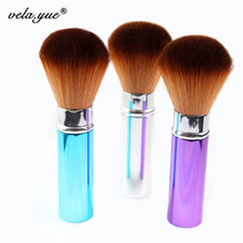 Professional Powder Brush Retractable Face Powder Blusher Makeup Brushes Beauty Tool