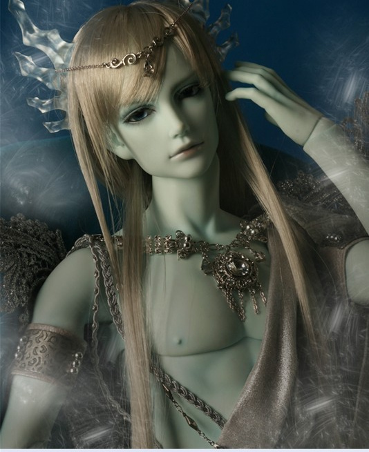1/3rd 65CM BJD nude doll Quartz - Ice Dragon,BJD/SD doll include face up..not include clothes;wig;shoes and other access&ies(China (Mainland))