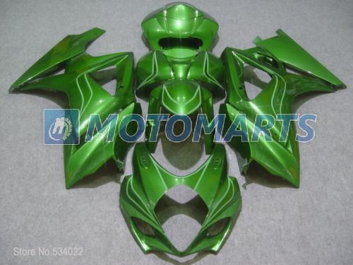 INJECTION MOLDED Fairing S116 Complete green For SUZUKI GSXR1000 2007 2008 GSX R 1000 07 08 GSX R1000 2007 2008 GSXR 1000(China (Mainland))