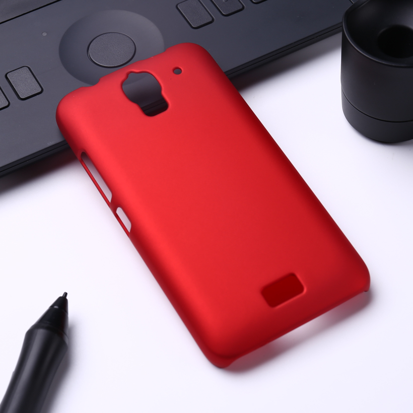 Oil-coated Rubber Matte Hard Phone Case For Huawei Ascend Y360 Y3 Y3C Y336 4'' Cover Frosted Anti-knock Mobile Phone Accessories(China (Mainland))