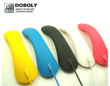 Original Doboly M3 Dual-mode handset microphone headset Universal Frosted Mobile phone Radiation protection for iphone samsung(China (Mainland))