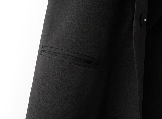 мода женщин тонкий chalecos mujer пальто зубчатый воротник женщин жилет двойной пресс стад карманы без рукавов пиджак жилет черный