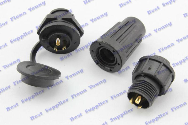 5 pcs\lot Electrical 3 Pin Waterproof XLR Plug Aviation 12mm Radio PCB Connectors Free Shipping<br><br>Aliexpress