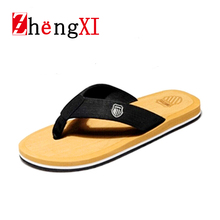 Fashion Summer Beckham Slippers Man's Sandals Thong Casual Shoes Beach Indoor Outdoor Slip Sandalias Free Shipping ZMS0052 D6