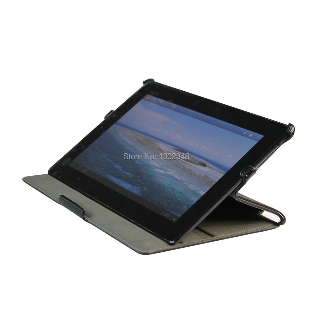 """Ultra Slim Heat Setting Folio Stand Leather Cover Protective Shell Case for ASUS MeMO Pad Smart 10 ME301T 10.1"""" Tablet(China (Mainland))"""