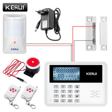 Buy GSM Alarm System Wireless Alarm Systems Security Home Alarm APP Control LCD Keyboard Wired Motion Detector Door Sensor for $40.82 in AliExpress store