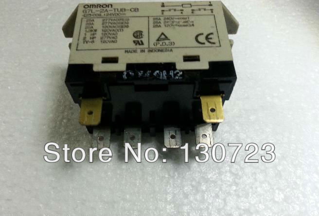 G7L-2A-TUB-CB OMRON Relay 25A 24VDC Omron power Relay()