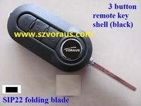 Folding Remote Key Case 3 BTN for Fi 500