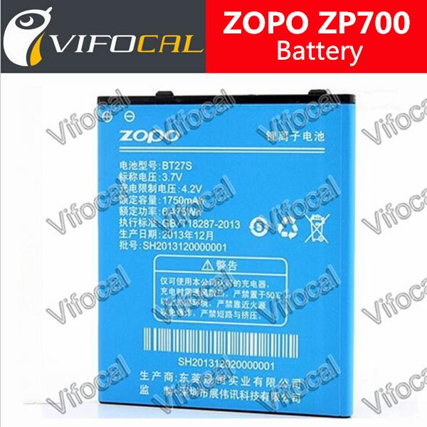 Гаджет  100% Original New High Quality Replacement Battery for zopo zp700 Mobile Phone 1750mAh Backup Bateria Batterij Free shipping None Электротехническое оборудование и материалы