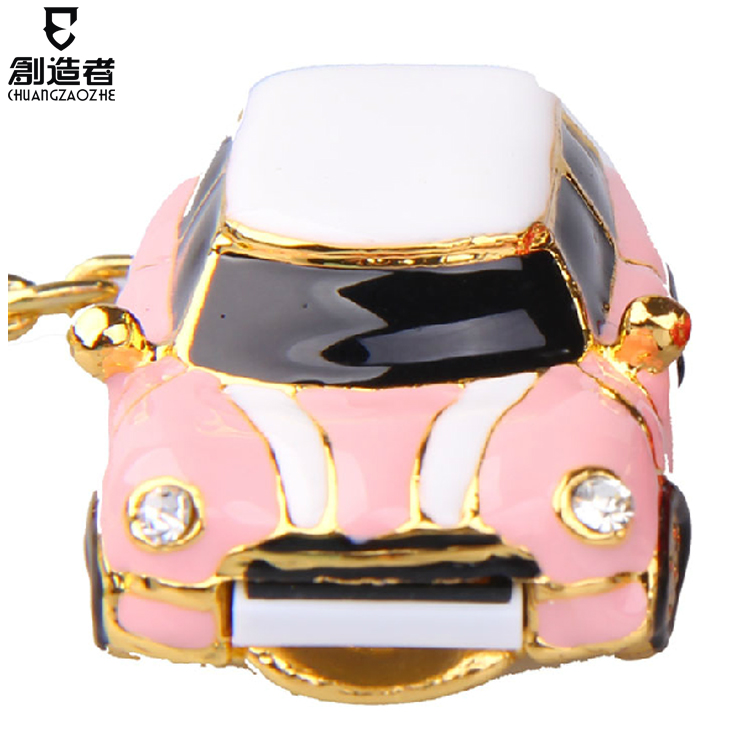 Usb flash drive fashion crystal 16g car usb flash drive rhinestone personalized usb flash drive
