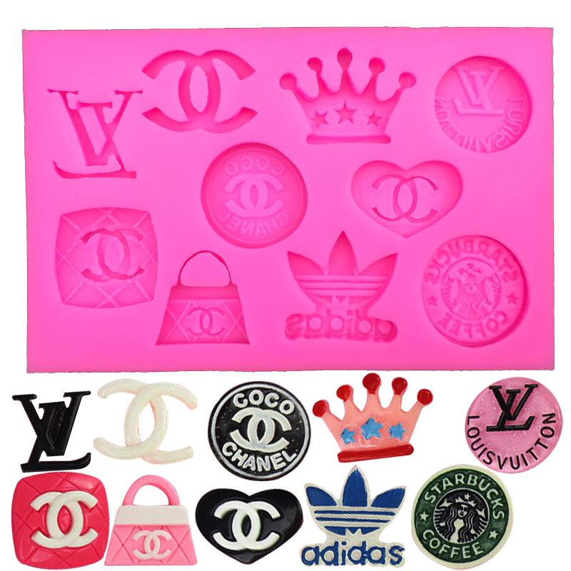 X logo fondant cake decoration silicone mold baking tools kitchen accessories FT-123(China (Mainland))