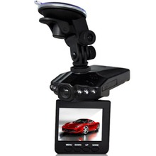 New 2.5'' LCD HD Car DVR 6 leds Night vision 270 Degree Car Camera video Recorder detector dash cam(China (Mainland))