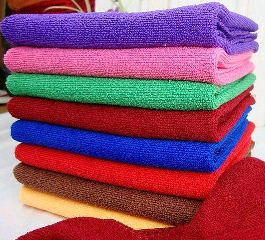 2015 Top Fashion Freeshipping Universal Toalhas Towels Bathroom Bigger Luxury New Soft Fiber Face Hand Cloth Towel- 10 Colors(China (Mainland))