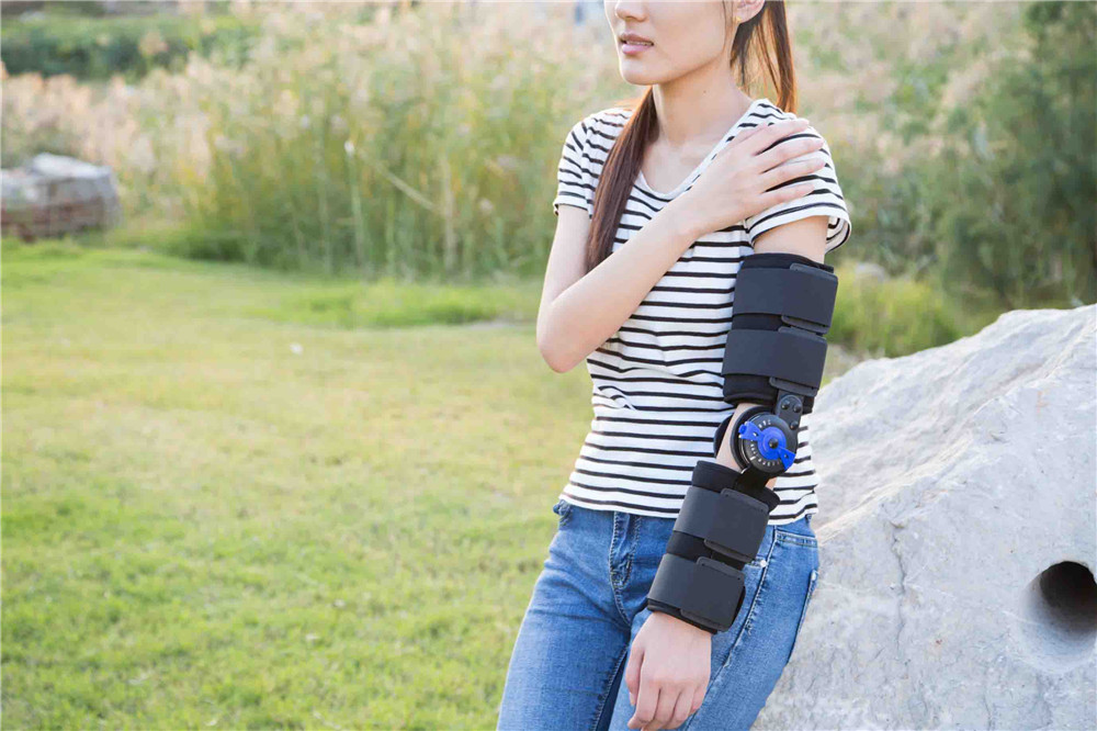 Top Grade Forearm Brace Arm Brace Hinged Elbow Brace Orthopedic Elbow Supports<br><br>Aliexpress