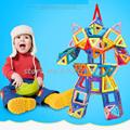 118pcs Mini Magnetic Designer Construction Set Model Building Toy Plastic Magnetic Blocks Educational Toys For Kids