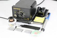 HAKKO 936 soldering station Electric iron+A1321 ceramic heating element +soldering iron tip +tweezers(China (Mainland))