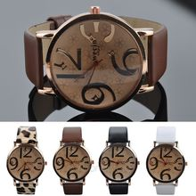 2015 HOT SALE Quartz Wrist Watch PU Leather Band for Women LS*MPJ685#A2