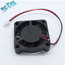5 pcs/lot 3D Printer Reprap 4010 Cooling Fan 40*40*10mm 12V 0.11A With 2 Pin Dupont Wire