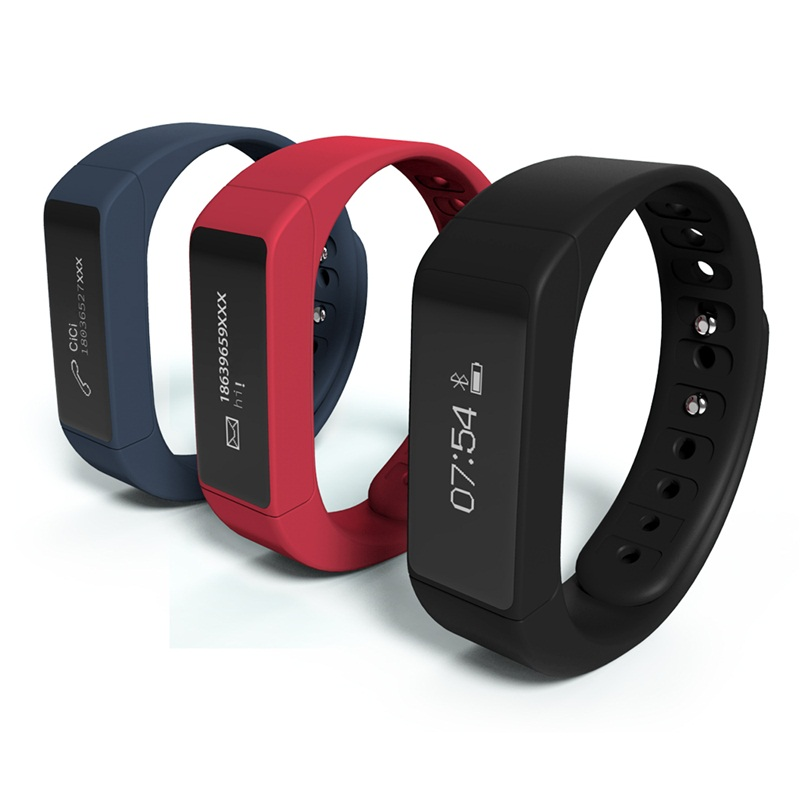 Excelvan I5 Plus Smart Bracelet Bluetooth 4.0 Waterproof Touch Screen Fitness Tracker Health Wristband Sleep Monitor Smart Watch<br><br>Aliexpress