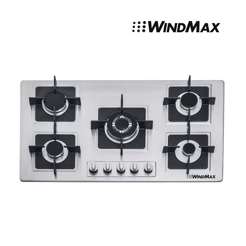 USA Warehouse 35.5'' Stainless Steel Built-in Kitchen 5 Burner Stove Gas Hob Cooker Cooktop US Seller(China (Mainland))