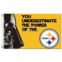 Buy 3X5FT N*FL 3x5ft Pittsburgh Steelers Flag 100D Polyester Flag World Series Capita Metal Grommets 90x150cm Outdoor Flag for $6.05 in AliExpress store