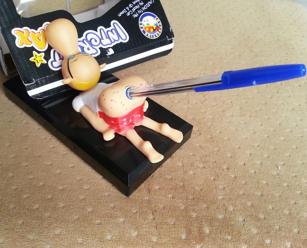 سوبر مضحك نكت مذهلة البكاء القلم حامل حامل مضحك خدعة مزحة لعبة صراخ كبير الأنف مدرب
