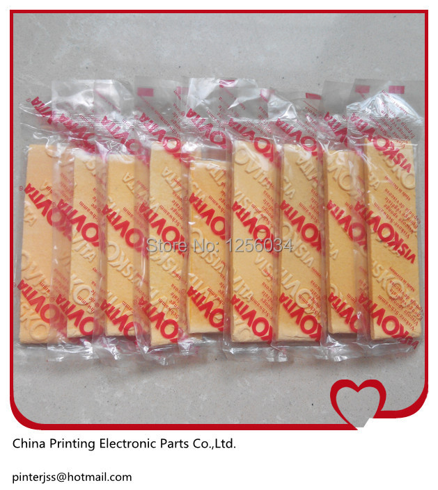 100 China post free shipping Compressed Cellulose Sponge For Printing Machine(China (Mainland))
