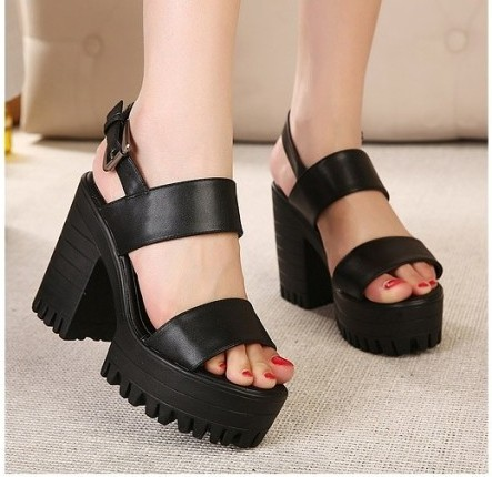 PU-leather-Women-Ladies-Peep-Open-Platform-Block-Chunky-Heels-Sandals-White-Black-Solid-Color-Shoes.jpg