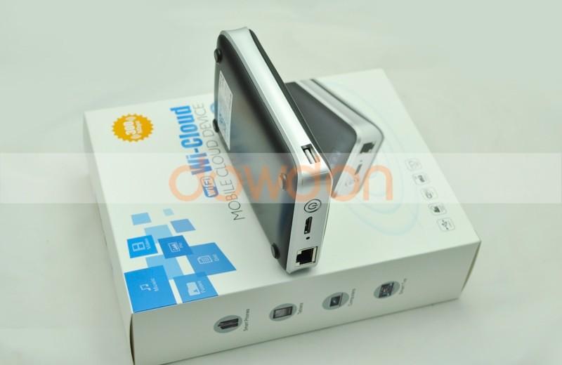 2.5' hdd корпус usb 3.0 беспроводной hdd случае внешний жесткий диск 3g wifi маршрутизатор wifi с 3500mah банка мощность для android windows