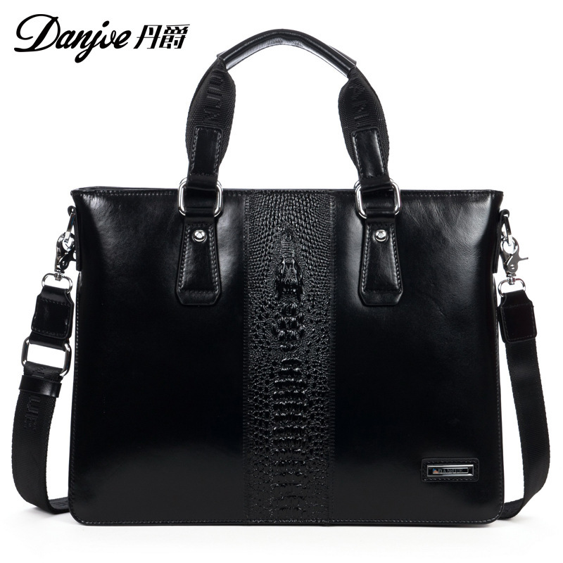 Dan Jue genuine factory new computer bag full leather man bag mens business man bag handbag brands<br><br>Aliexpress