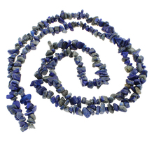 Buy YYW New Fashion DIY Making Loose Nuggets Beads Bracelet Necklace Jewelry 5-8mm Real Natural Lapis Lazuli Stone Chips Beads for $1.26 in AliExpress store