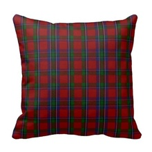 Good Case Stylish Clan Sinclair Tartan Plaid Pillow Case (Size: 45x45cm) Free Shipping