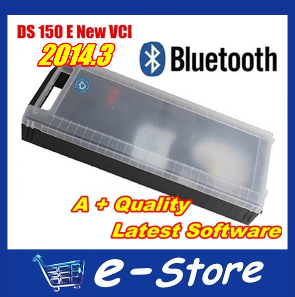 Lowest price Quality DS150 DS150E CDP+ Plus 2014.3 +BLUETOOTH + Multi-language Diagnostic tool fast Shipping - VIP E-Store store