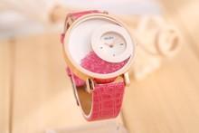 Relogios femininos marca de lujo arenas movedizas relojes del cuarzo del cuero casual reloj del rhinestone mujeres relojes mujer vestido reloj mujer