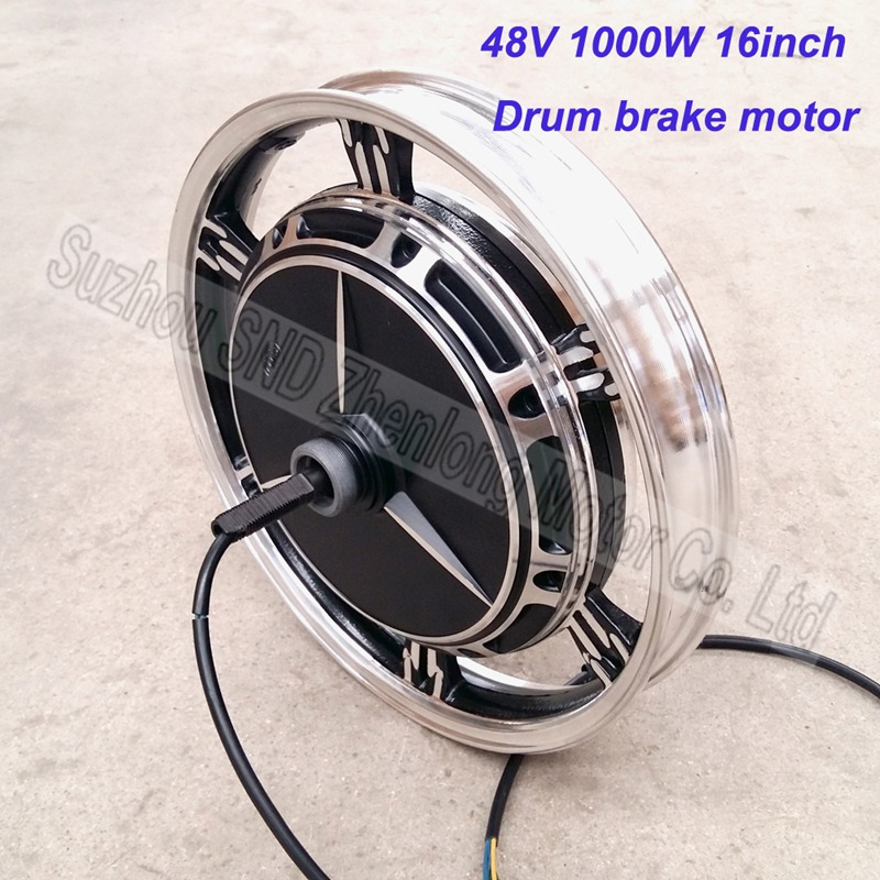"Customized 48V60V72V 1000W electric bike hub motor 16inch * 2.5""/3.0""/ scooter brushless hub motor G-M048(China (Mainland))"
