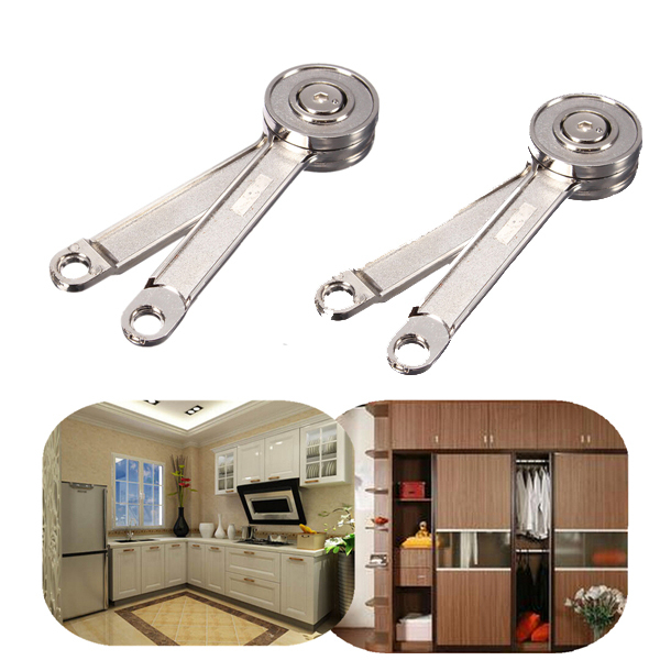 2Pcs/Lot Adjustable Stays Support Toy Box Hinges Lift Up Tool for Kitchen Cupboard Cabinet Door(China (Mainland))