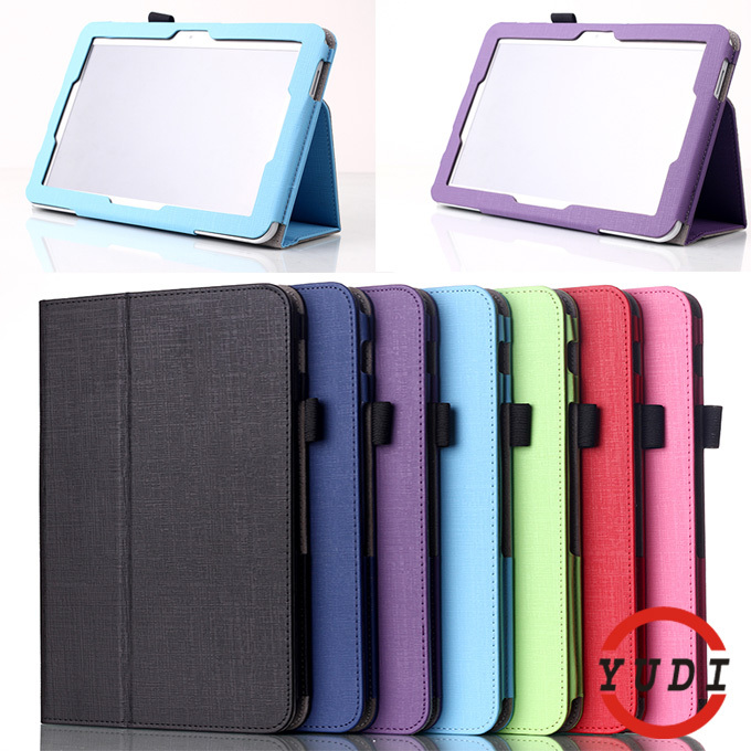 "Luxury Litchi Pattern PU Leather Protective Shell Case Cover for Toshiba Encore 2 WT10 10"" Tablet Accessories Y4C28D(China (Mainland))"