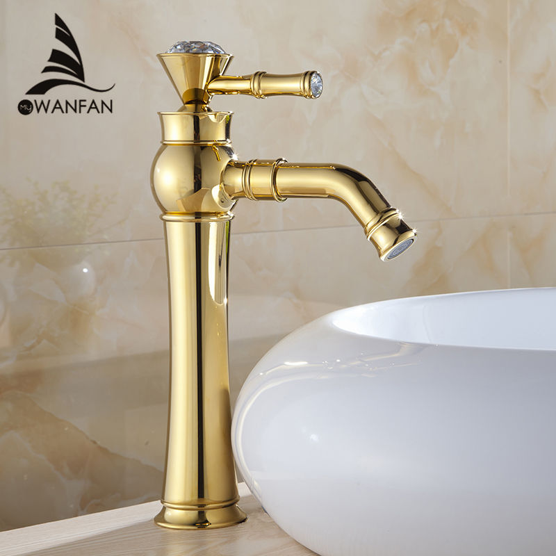 buy wholesale gold bathroom faucets from china gold
