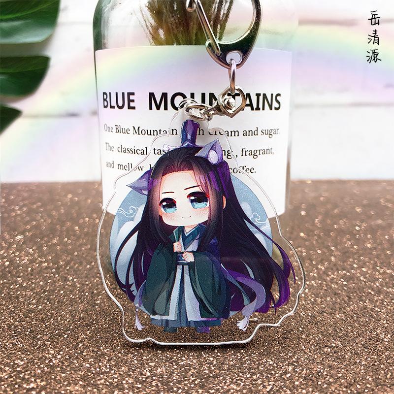 Scum Villain Self Saving System Luo Bing He Shen Qingqiu Metal Keychain Keyring