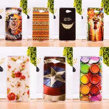 Buy Soft TPU Phone Case Sony Xperia M2 S50H D2303 D2305 D2306 dual D2302 4.8 inch Luxury Painted Silicon Back Cover Shell Skin for $1.78 in AliExpress store