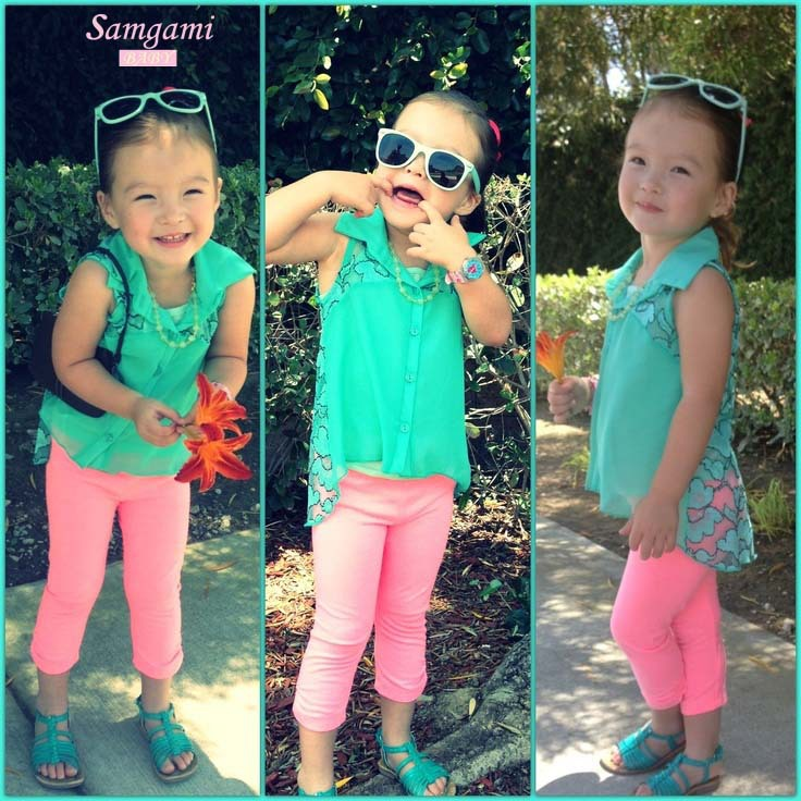 New Arrival girls clothing sets fashion summer kids girl coat vest pants suits 3 pcs children girls summer clothes sleeveless <br><br>Aliexpress