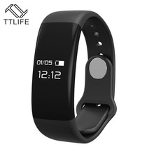 Buy TTLIFE Smart Bracelet H30 Bluetooth Smartband Heart Rate Monitor Wristband Tracker Fitness Watch Android/iOS PK Mi band 2 for $23.53 in AliExpress store