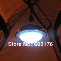 New Arrival 36LED Outdoor Camping Lamp with Lampshade Circle Tent Light Campsite Hanging Lamp Free Shipping Drop Shipping