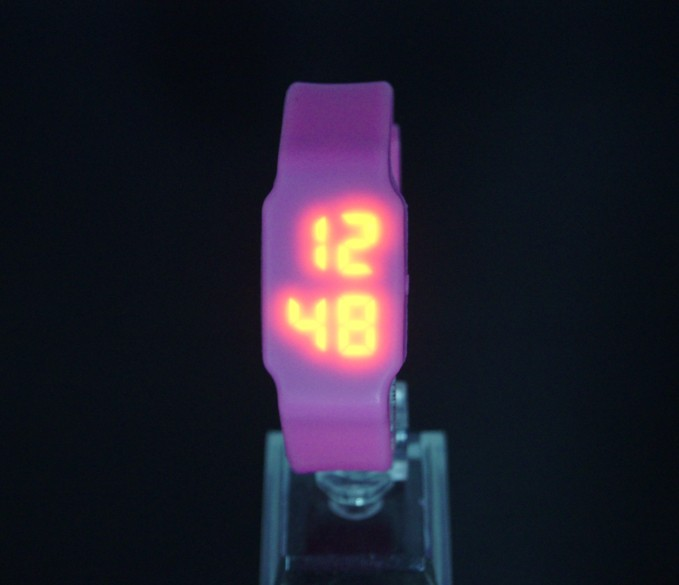 2015 promotion price boys/girls/children casual square design led digital movement sports watch instructions(China (Mainland))