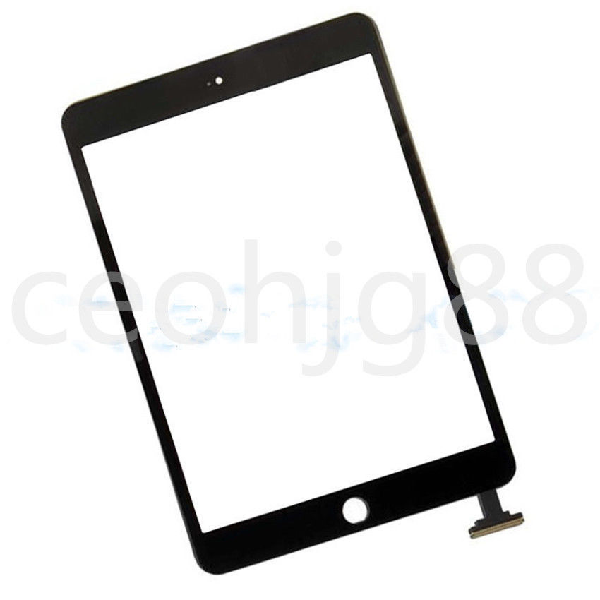 Touch Screen Digitizer Glass Lens Replacement for ipad mini 3 3rd A1599 A1600 A1601 Black free tools(China (Mainland))